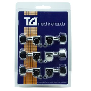 TGI Machineheads Electric (3-a-Side), M6 Style, Nickel