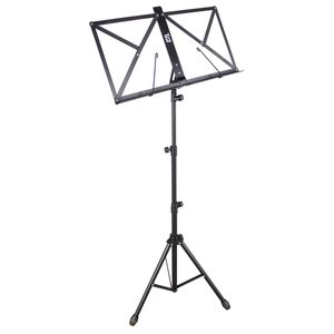TGI Music Stand in Bag, Black