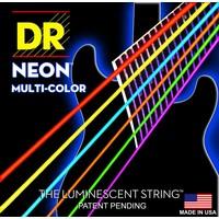 DR Neon Electric String Set, Multicolour
