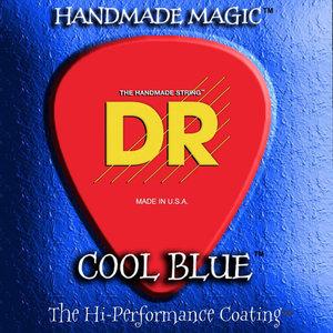 DR K3 Cool Blue Coated Electric String Set