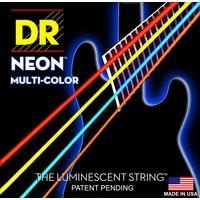 DR Neon Bass String Set, Multicolour, .045-.105