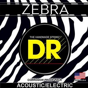 DR Zebra Acoustic/Electric String Set