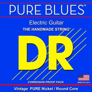 DR Pure Blues Electric String Set