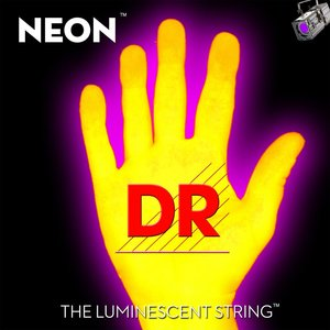 DR Neon Electric String Set, Yellow