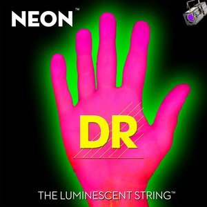 DR Neon Electric String Set, Pink
