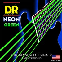 DR Neon Electric String Set, Green