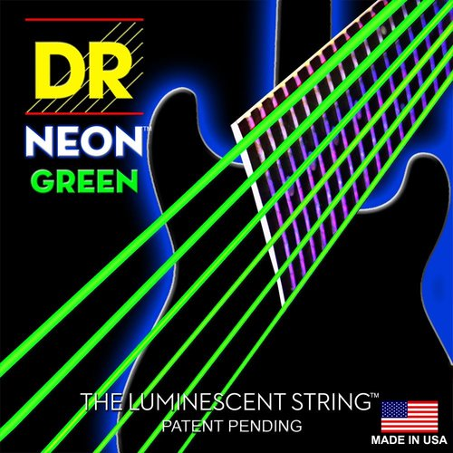 DR Strings DR Neon Electric String Set, Green