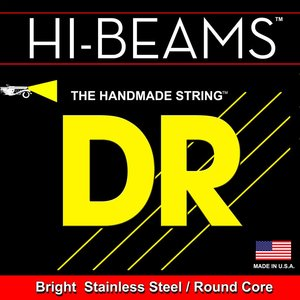 DR Hi-Beam 5-String Bass Set