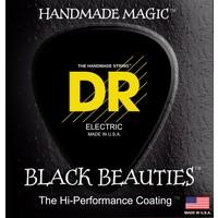 DR K3 Black Beauties Coated Electric String Set