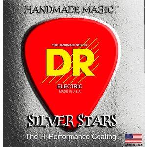 DR K3 Silver Stars Coated Acoustic String Set