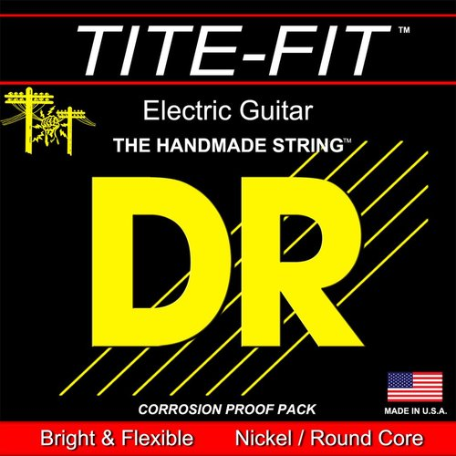 DR Strings DR Tite Fit Electric String Set, Round Core