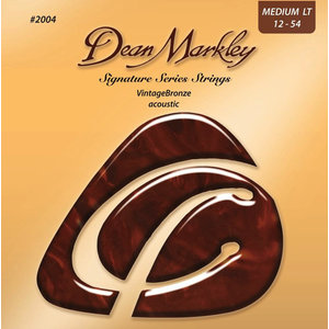 Dean Markley Signature Series Acoustic String Set Vintage Bronze