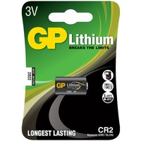 GP Lithium CR2 Battery, Single