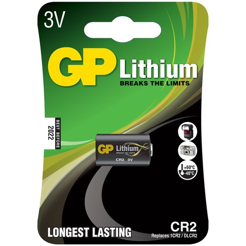 GP GP Lithium CR2 Battery, Single