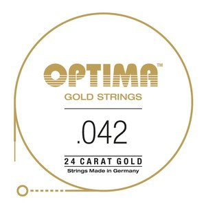 Optima Gold Single String, Gold Wound