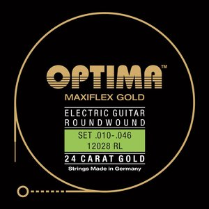 Optima Gold Maxiflex Electric Guitar String Set