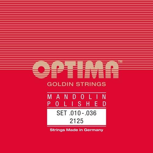 Optima Optima Mandolin String Set, Goldin Specially Polished, Loop End, .010-.036