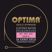 Optima Gold Electric Guitar String Set
