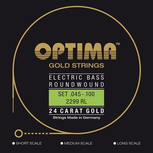 Optima Gold Bass String Set