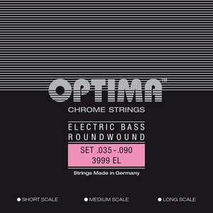 Optima Chrome Bass String Set