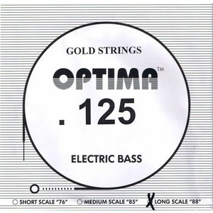 Optima Single String, Bass, Gold