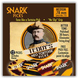 Snark Teddy's Neo Tortoise Picks, 12-Pack