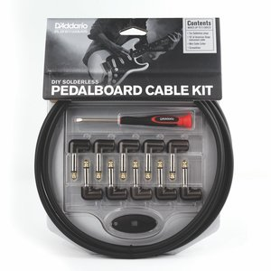 Planet Waves Solderless Pedalboard Cable Kit, 10ft