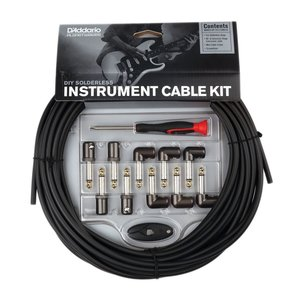 Planet Waves Solderless Instrument Cable Kit, 50ft