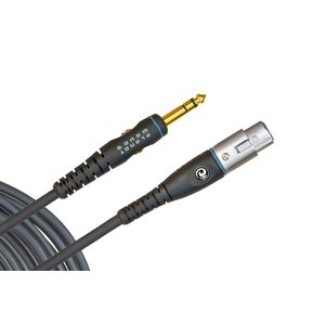 Planet Waves Microphone Cable, Custom Series, XLR-TRS Jack