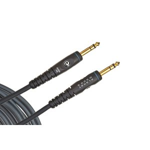Planet Waves Stereo TRS Instrument Cable, Custom Series