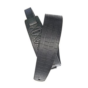 Planet Waves Leather Guitar Strap, Alligator