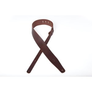 Planet Waves Thick Leather Guitar Strap - Brown