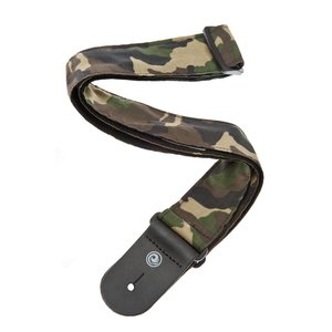 Planet Waves Woven Guitar Strap - Camouflage