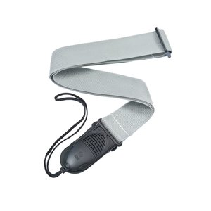 Planet Waves Acoustic Quick Release Guitar Strap - Silver