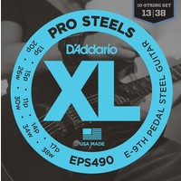 D'Addario Pedal Steel String Set, EPS490 E-9th Tuning