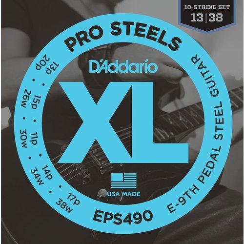 D'Addario D'Addario Pedal Steel String Set, EPS490 E-9th Tuning