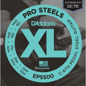 D'Addario Pedal Steel String Set, EPS500 C-6th Tuning