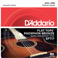 D'Addario Flat Tops Acoustic String Set