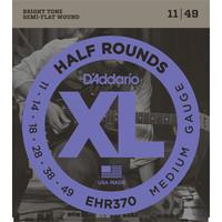 D'Addario XL Half Round Electric Guitar String Set