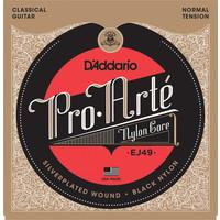 D'Addario ProArte Black Nylon Classical Guitar String Set