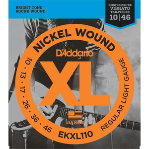 D'Addario XL Reinforced Electric Guitar String Set