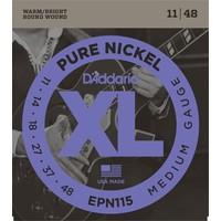 D'Addario XL Pure Nickel Electric Guitar String Set