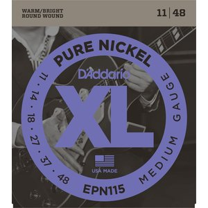 D'Addario XL Pure Nickel Electric Guitar String Set
