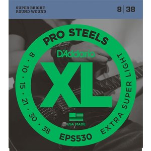 D'Addario ProSteels Electric String Set