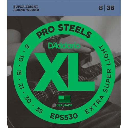 D'Addario D'Addario ProSteels Electric String Set