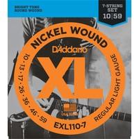 D'Addario XL 7-String Electric Guitar String Set