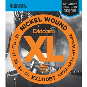 D'Addario XL Balanced Tension Electric Guitar String Set