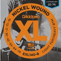 D'Addario XL 8-String Electric Guitar String Set