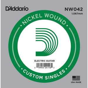 D'Addario Single String, Nickel Wound