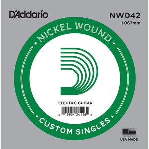 D'Addario Single String, Nickel Wound